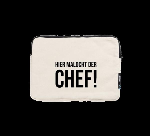 Bild: Laptoptasche mit Spruch Chef Ruhrpott-Geschenk