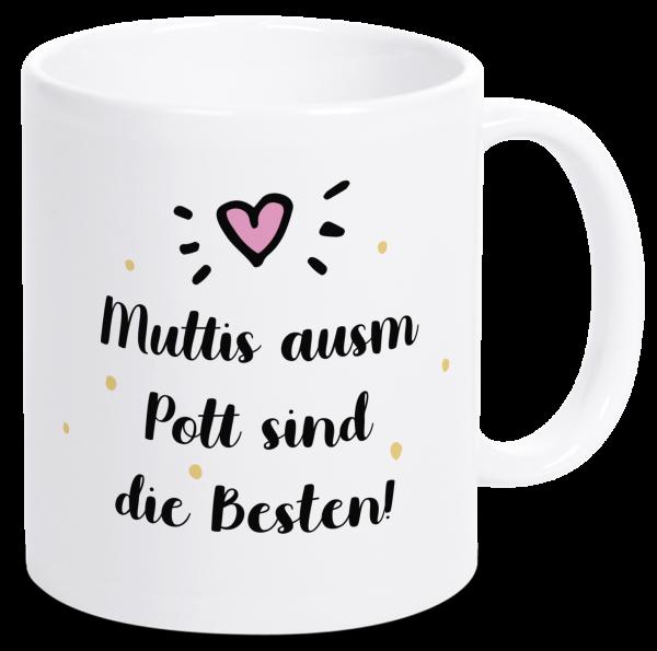 Bild: Tasse mit lustigem Spruch Mutter Ruhrpott-Geschenk