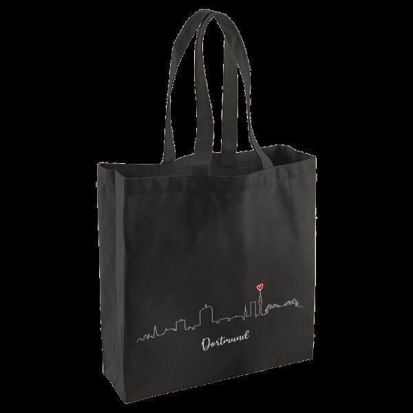 Bild: Tasche mit Skyline Dortmund Ruhrpott-Geschenk