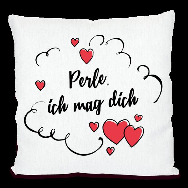 Bild: Kissen mit lustigem Spruch Ruhrpott Perle - Geschenk