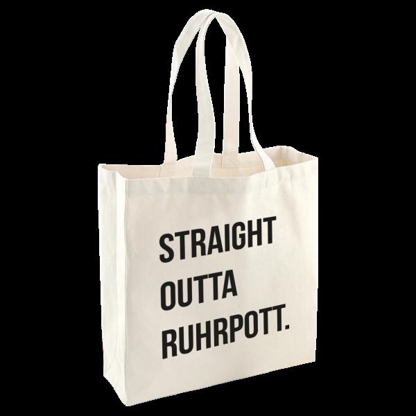 Bild: Tasche mit Spruch Ruhrpott-Geschenk