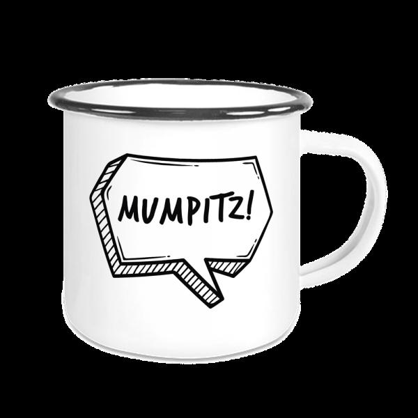 Bild: Emailletasse mit Spruch Ruhrpott - Geschenk