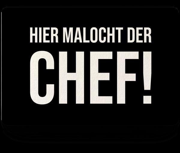 Bild: Fußmatte mit lustigem Spruch Chef Ruhrpott-Geschenk