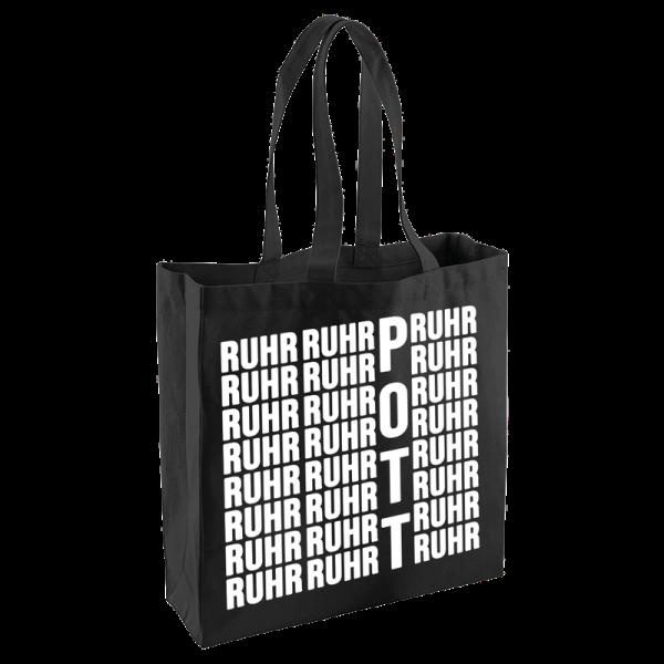 Bild: Jute Shopper mit Spruch Ruhr Pott - Geschenk