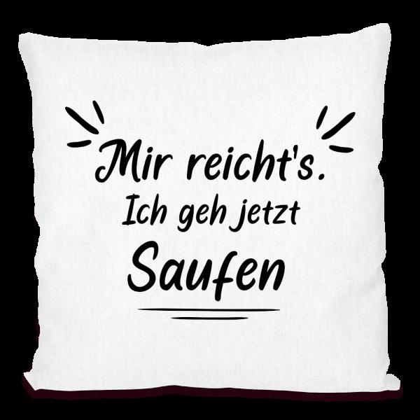 Bild: Kissen mit lustigem Spruch Ruhrpott Bier - Geschenk