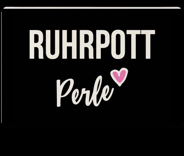 Bild: Fußmatte mit Spruch Perle Ruhrpott-Geschenk