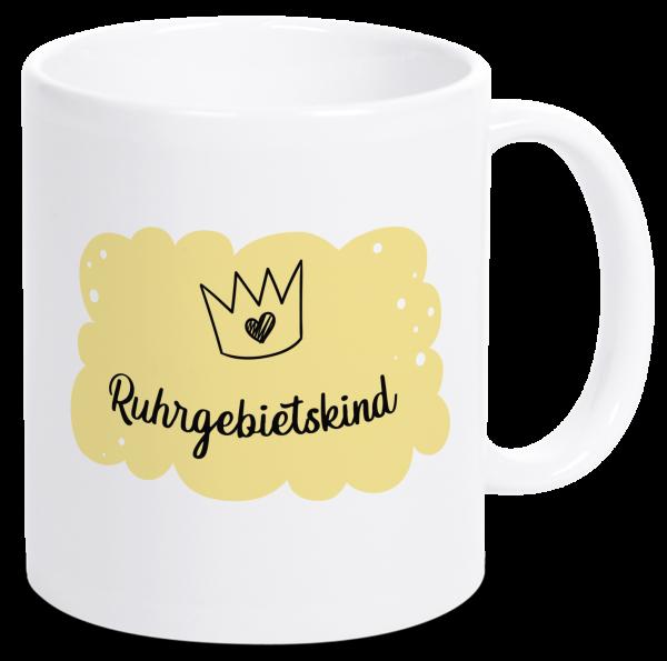 Bild: Tasse mit Spruch Ruhrgebietskind Ruhrpott-Geschenk