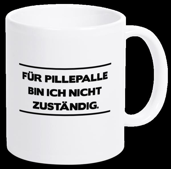 Bild: Tasse mit lustigem Spruch Pillepalle Ruhrpott-Geschenk