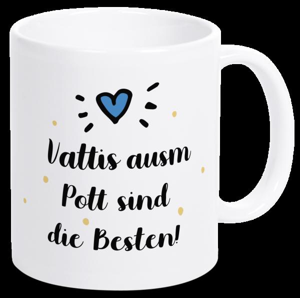 Bild: Tasse mit Spruch Vater Ruhrpott-Geschenk