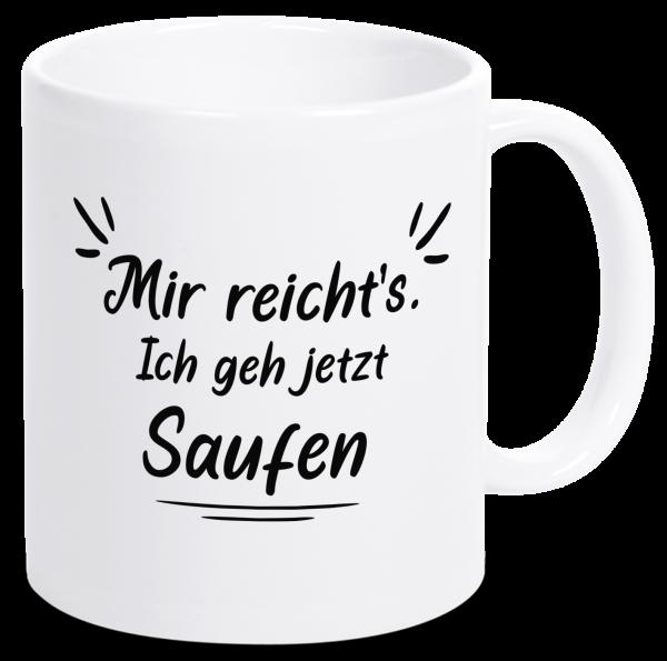 Bild: Tasse mit lustigem Spruch Bier Ruhrpott-Geschenk