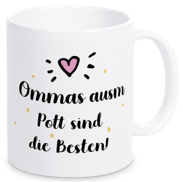 Bild: Tasse mit Spruch Oma Ruhrpott-Geschenk