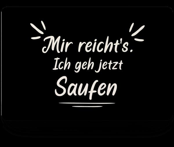 Bild: Fußmatte mit lustigem Spruch Bier Ruhrpott-Geschenk