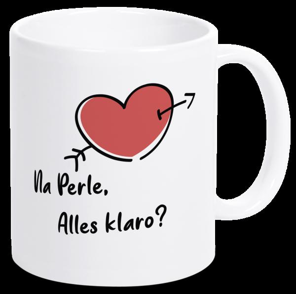 Bild: Tasse mit lustigem Spruch Perle Ruhrpott-Geschenk