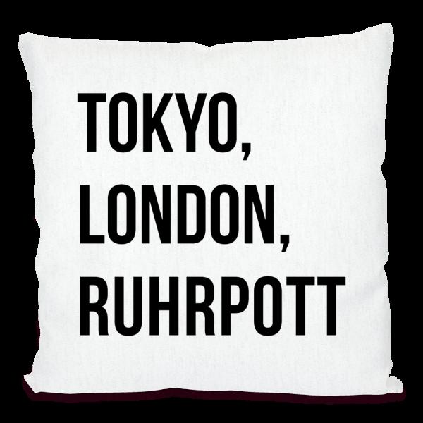 Bild: Kissen mit lustigem Spruch Ruhrpott - Geschenk