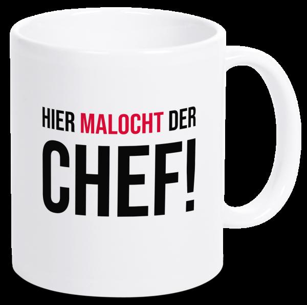 Bild: Tasse mit lustigem Spruch Ruhrpott-Geschenk Chef