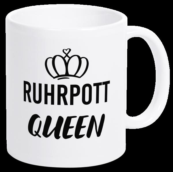 Bild: Tasse mit Spruch Ruhrpott Queen Geschenk