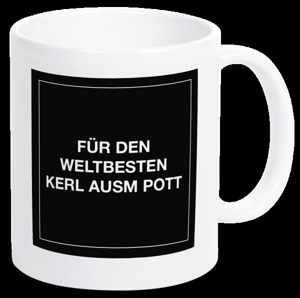 Bild: Tasse mit Spruch Ruhrpott-Geschenk