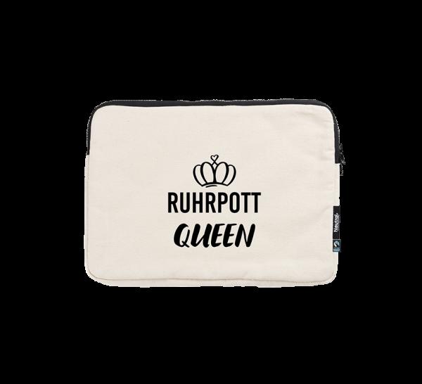 Bild: Laptoptasche mit Spruch Ruhrpott Queen-Geschenk