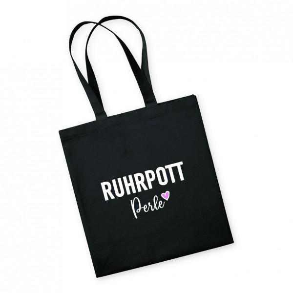 Bild: Tasche mit Spruch Perle Ruhrpott-Geschenk