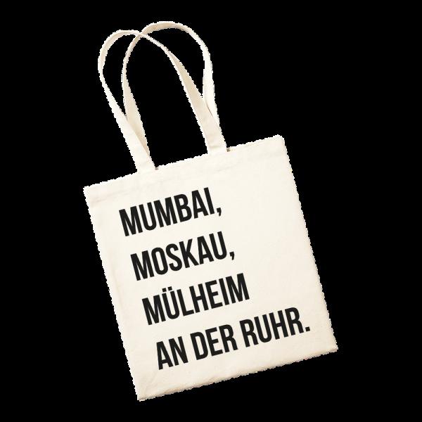 Jutetasche - Mumbai, Moskau, Mülheim an der Ruhr.