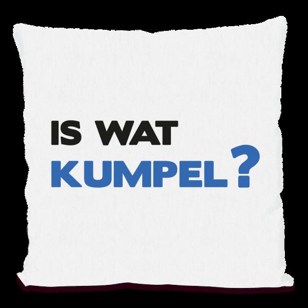 Bild: Kissen mit lustigem Spruch Ruhrpott Kumpel - Geschenk