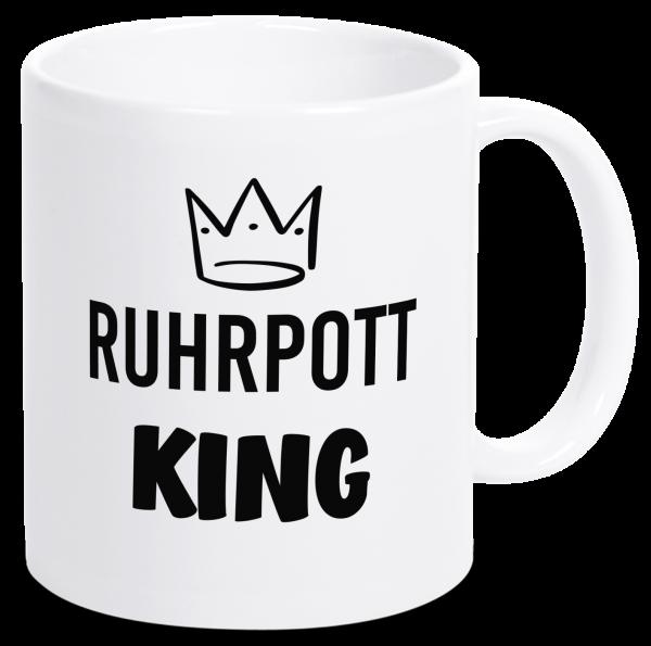 Bild: Tasse mit Spruch Ruhrpott King-Geschenk