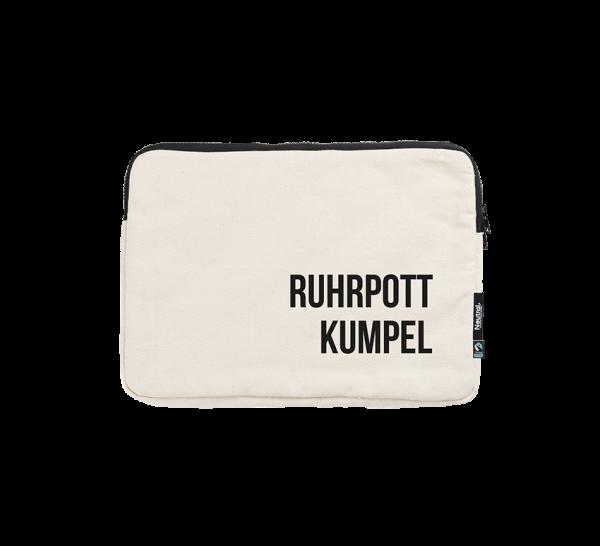 Bild: Laptoptasche mit Spruch Ruhrpott-Geschenk