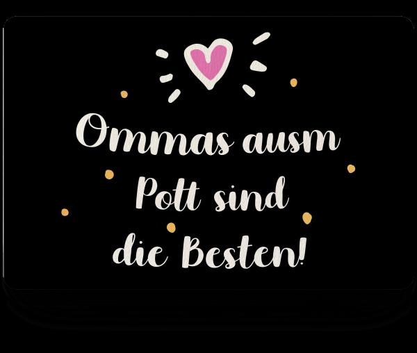 Bild: Fußmatte mit Spruch Oma Ruhrpott-Geschenk