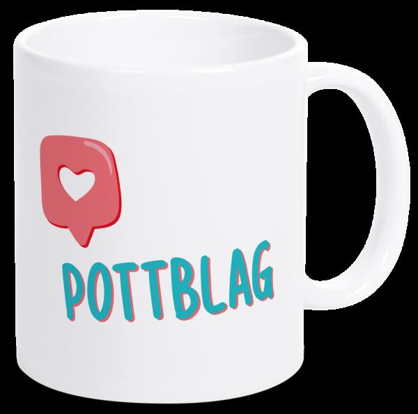Bild: Tasse mit lustigem Spruch Pottblag Ruhrpott-Geschenk
