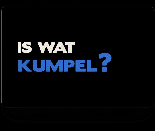 Bild: Fußmatte mit lustigem Spruch Kumpel Ruhrpott-Geschenk