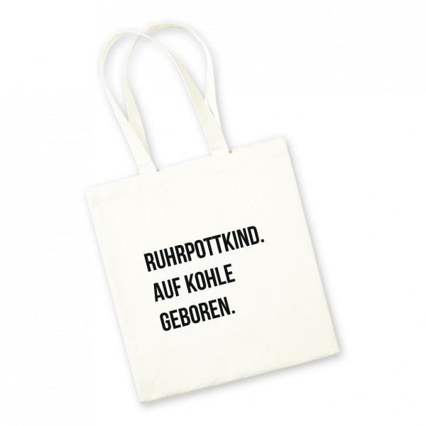 Bild: Jutebeutel mit lustigem Spruch Ruhrpott - Geschenk