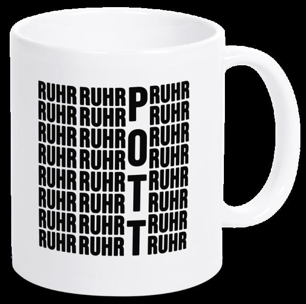 Bild: Tasse mit Spruch Ruhrpott - Geschenk
