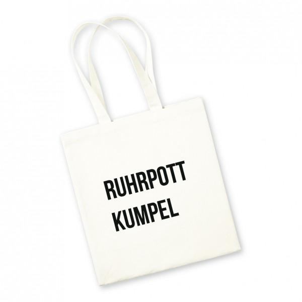 Bild: Jutebeutel mit lustigem Spruch Ruhrpott Kumpel - Geschenk
