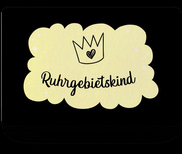 Bild: Fußmatte mit Spruch Ruhrgebietskind Ruhrpott-Geschenk