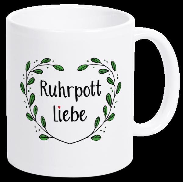 Bild: Tasse mit Spruch Liebe Ruhrpott-Geschenk