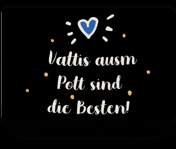 Bild: Fußmatte mit Spruch Vater Ruhrpott-Geschenk