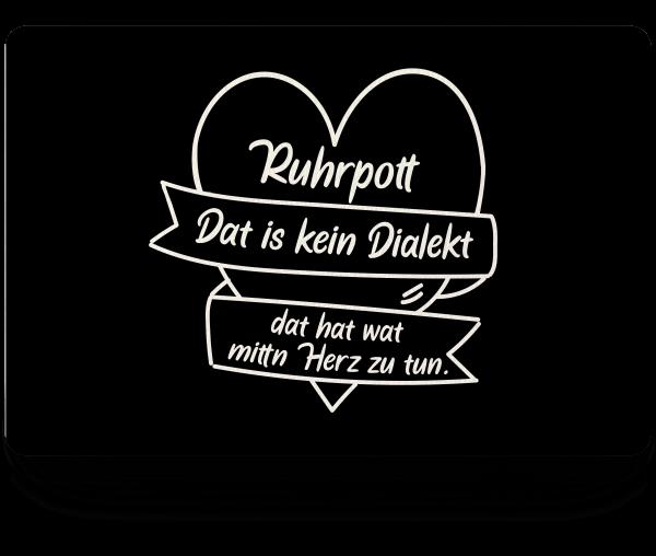Bild: Fußmatte mit Spruch Ruhrpott-Geschenk