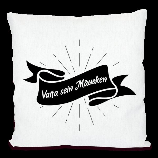 Bild: Kissen mit lustigem Spruch Ruhrpott Vater - Geschenk