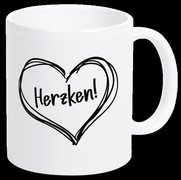Bild: Tasse mit Spruch Herz Ruhrpott-Geschenk