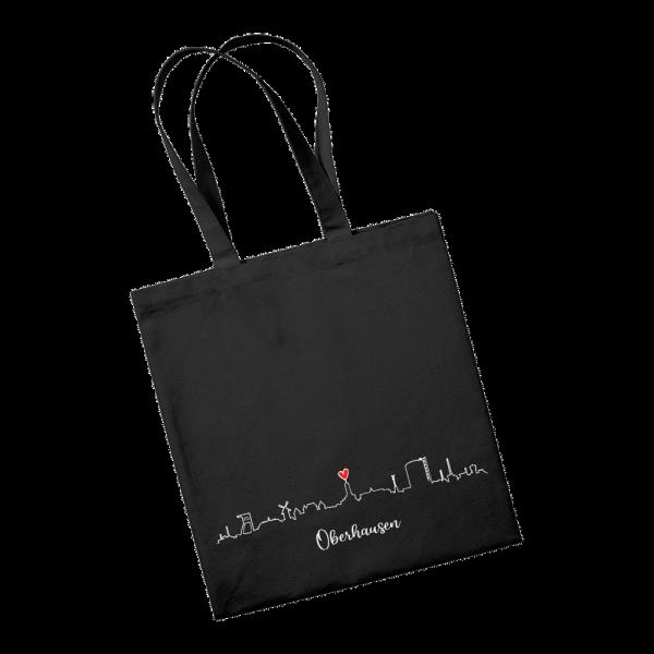 Bild: Tasche mit Skyline Oberhausen Ruhrpott-Geschenk