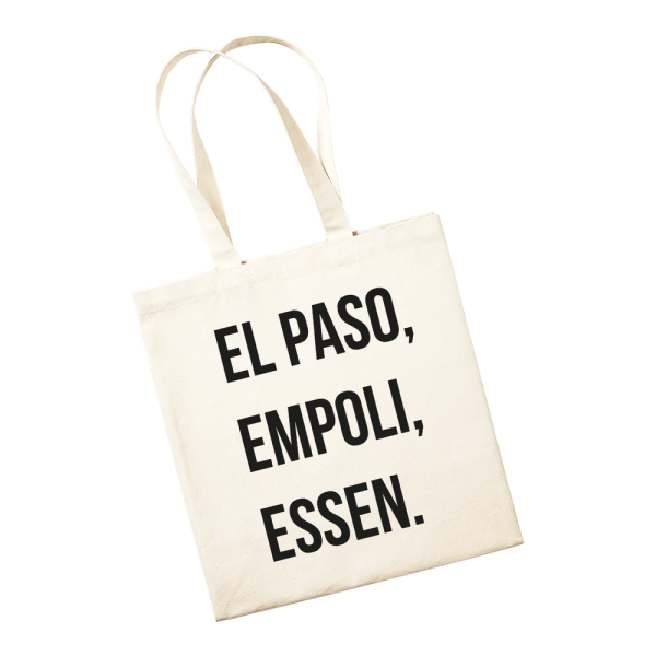 Jutetasche - El Paso, Empoli, Essen.