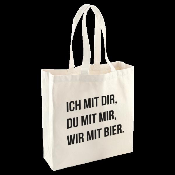 Bild: Tasche mit lustigem Spruch Ruhrpott-Geschenk