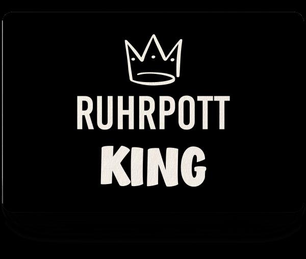 Bild: Fußmatte mit Spruch Ruhrpott King-Geschenk
