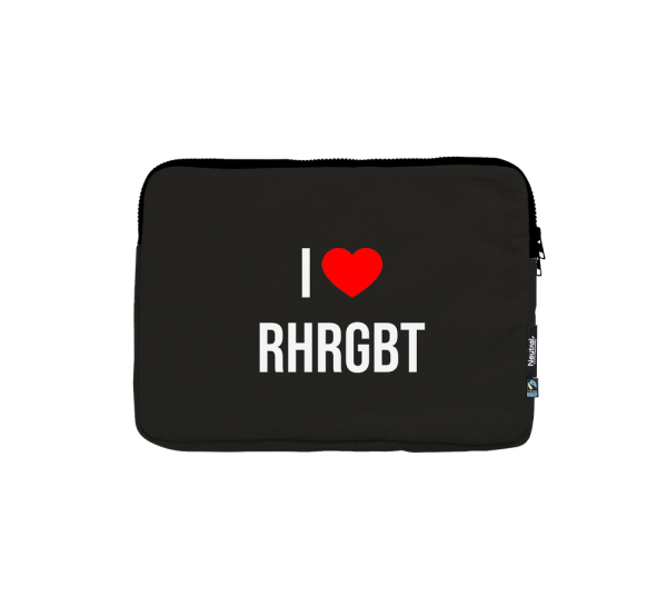 Laptoptasche 13'' - I love RHRGBT